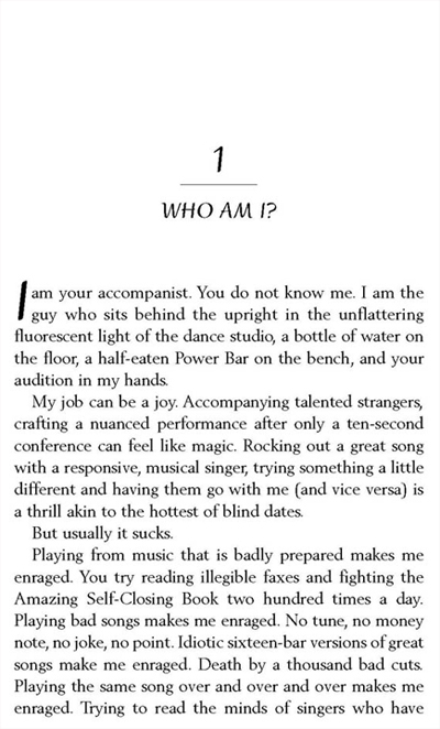 The Enraged Accompanist's Guide to the Perfect Audition Chapter 1 Page 1