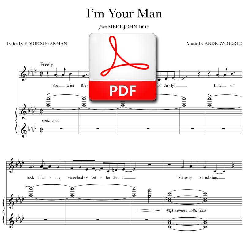im your man meet john doe lyrics