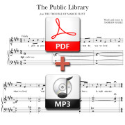 The Public Library - PDF + MP3 - music and lyrics by Andrew Gerle