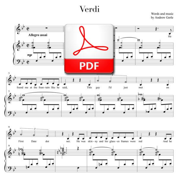 """Verdi"" - by Andrew Gerle"